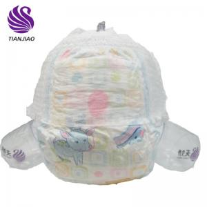 breathable cotton material baby diaper pants